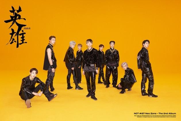 NCT 127 정규 2집 'NCT #127 Neo Zone' 이미지./ 사진제공=SM엔터테인먼트