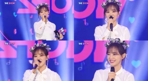 SBS MTV '더 쇼' 방송화면. /사진제공=SBS