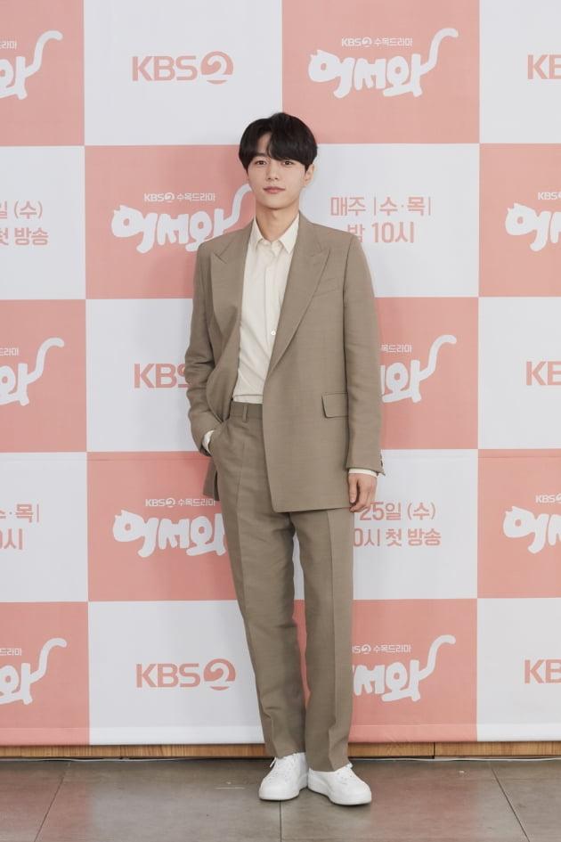 [TEN 포토] '어서와' 인피니트 엘, '오늘은 배우 김명수'