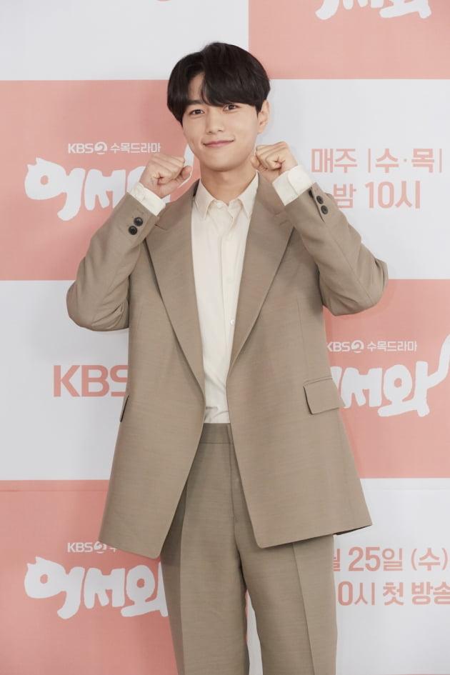 [TEN 포토] '어서와' 김명수, '웹툰 찢고 나온 비주얼'