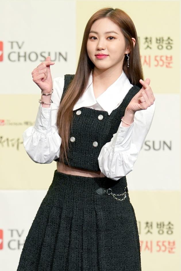 [TEN 포토] '어쩌다 가족' CLC 권은빈, '실어증 연기 도전~'