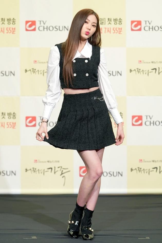 [TEN 포토] '어쩌다 가족' CLC 권은빈, '잔망스러운 포즈'