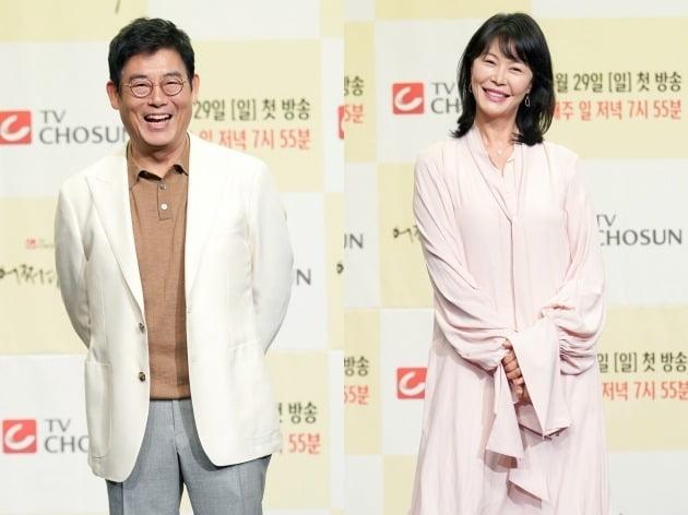 배우 성동일, 진희경./사진제공=TV조선