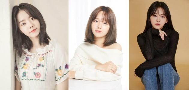 배우 김소혜(왼쪽부터), 정지소, 조이현 / 사진제공=각 소속사