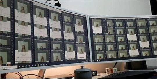 올해 1월 정민당 창당준비위원회가 공개한 송하예 '니 소식' 음원 사재기 시도 정황 사진./ 사진제공=정민당