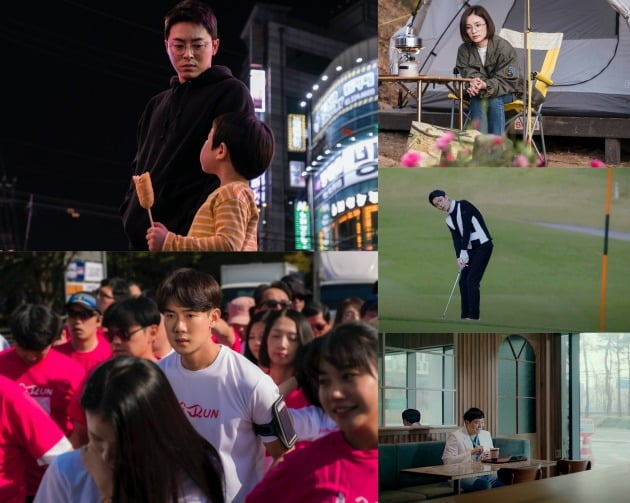'슬기로운 의사생활' 조정석, 유연석, 전미도, 정경호, 김대명 / 사진제공=tvN
