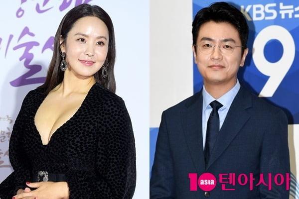 방송인 박지윤과 그의 남편 최동석 아나운서/ 사진=텐아시아DB