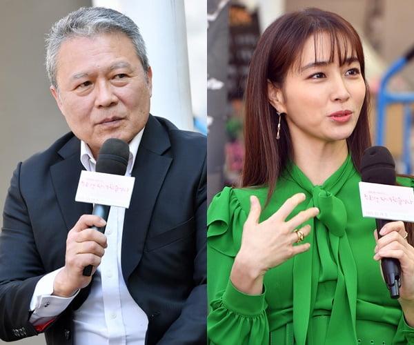 배우 천호진(왼쪽)과 이민정/ 사진제공=KBS2