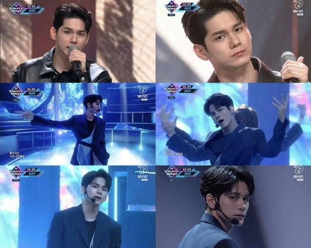 '엠카운트다운' 옹성우 / 사진 = Mnet 영상 캡처
