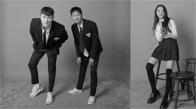 '계약우정' 신승호(왼쪽부터), 이신영, 김소혜 / 사진제공=메가몬스터
