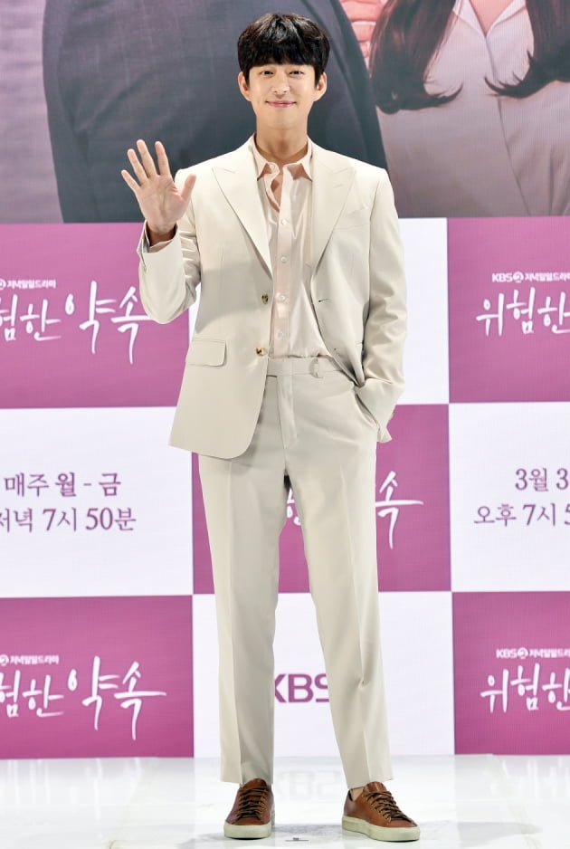 [TEN 포토] '위험한 약속' 이창욱, '이기적인 비율'