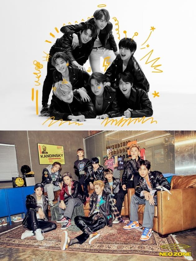 그룹 방탄소년단(BTS), NCT 127 / 사진=빅히트, SM엔터테인먼트 제공