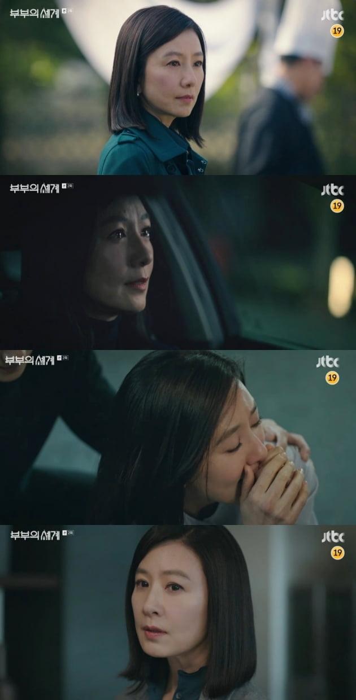 19禁 '부부의 세계' 파격 전개…김희애, 남편 외도녀 임신에 '흑화'