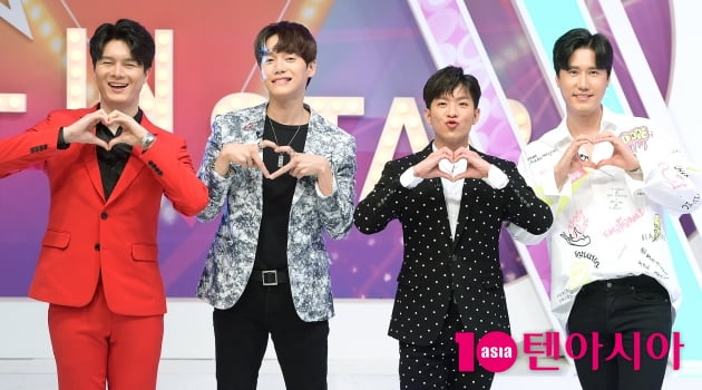 [TEN 포토] 신인선X이대원X나태주X신성, '미스터트롯의 스타들'
