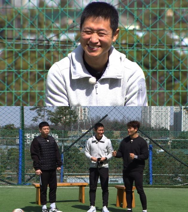 '날아라 슛돌이'의 전임 감독이 된 이영표/ 사진제공=KBS2