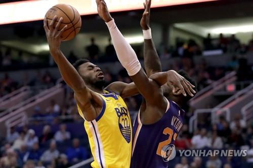 NBA 위긴스, 골든스테이트 이적 후 첫 승…19연패 마감