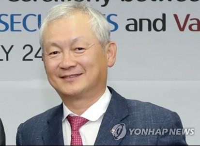 정영채 NH투자증권 사장 재선임안 주총서 통과