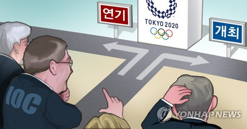 """IOC 도쿄올림픽 연기 수일 내로 발표""[로이터]"