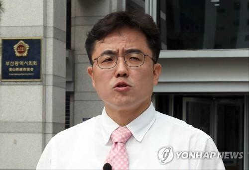 """'미투 의혹' 김원성 """"통합당 탈당하고 무소속 출마"""""""