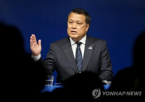"""코로나19 확진 일본축구협회장 """"올림픽 예정대로 개최 희망"""""""