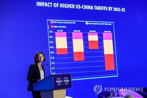 '글로벌경제 덮치는 코로나19'…OECD, 성장률 전망 2.4%로 하향