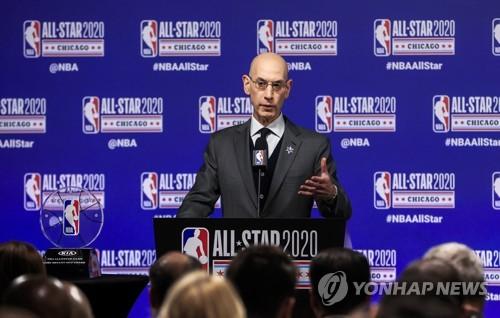 """ESPN """"NBA, 코로나19 사태로 경영진 임금 20% 삭감 예정"""""""