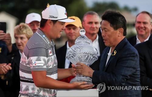 '베어트랩 공략' 임성재, PGA 투어 '49전 50기' 첫 우승