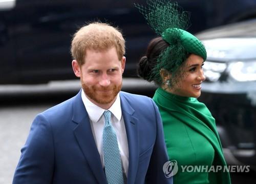 해리 왕자 부부, 국경폐쇄 전 캐나다 떠나 LA로…독자 행보 돌입