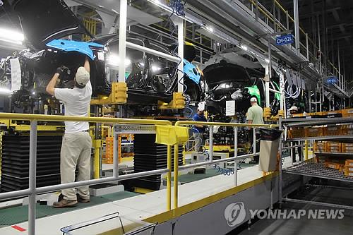 """기아차 美조지아공장 30일부터 2주간 가동 중단…""""코로나 대응""""(종합)"""