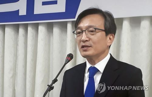 """'열린민주당 비례 출마' 김의겸 """"민주당과 한 바다에서 만날 것"""""""
