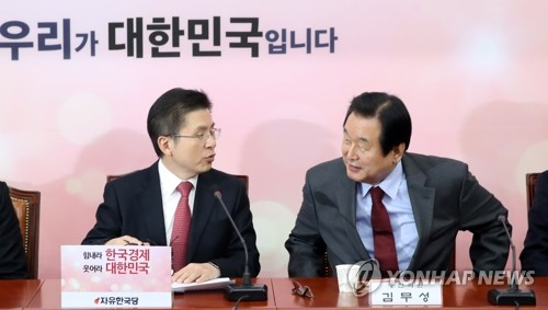 """김무성 '광주 출마' 끝내 무산되나…""""응답하라 황교안"""""""