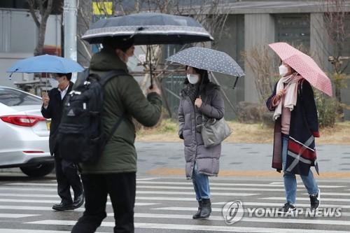 전국 흐리고 오전까지 비…낮 기온 21도 포근한 봄 날씨