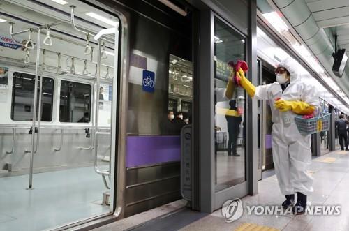 코로나19로 서울 대중교통 승객 평시 대비 31% 감소