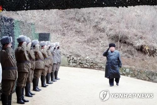 북한, 발사체로 '존재감' 과시하며 내부 결속 잰걸음