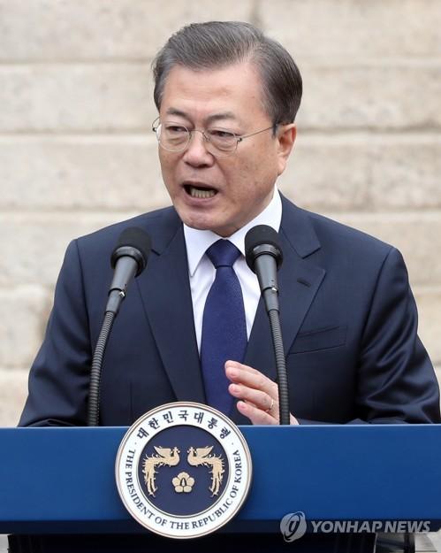 일본 언론, 문 대통령 '함께 코로나19 위기 극복' 제안 주목(종합)