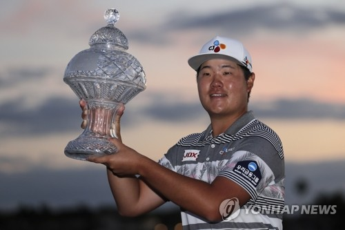 'PGA 우승' 임성재, 세계 25위로 '껑충'…개인 최고 20위권 진입