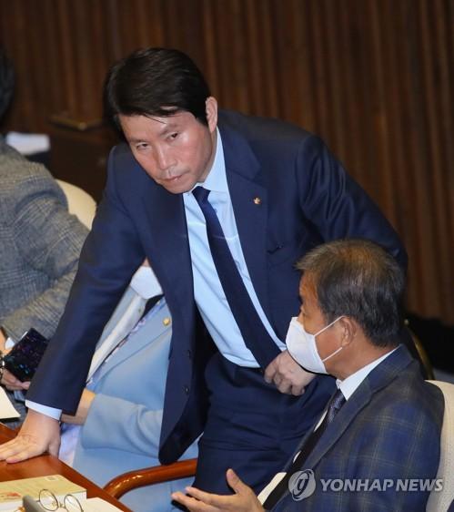 """이인영, 인터넷은행법 부결사태 공개 사과…""""혼선 빚어 미안"""""""