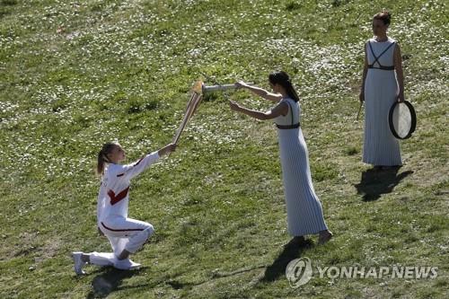 도쿄올림픽 조직위, 26일 성화 출발식 등 '무관중' 결정(종합)
