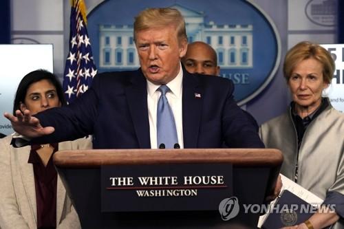 """트럼프, '중국 바이러스' 트윗 논란…일각서 """"인종 부각"""" 비판"""