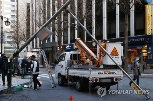 서울에 내려진 강풍주의보 오늘 오후 11시 해제