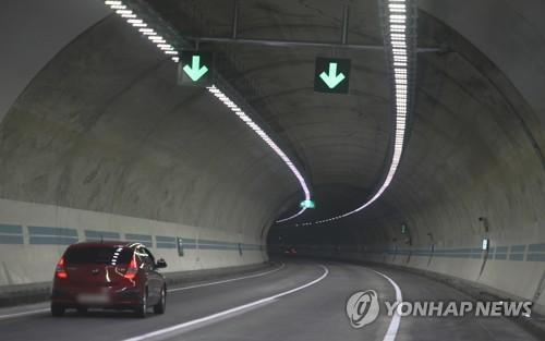 사고 36일만 통행 재개된 남원 사매2터널…과속 방지 시설 추가