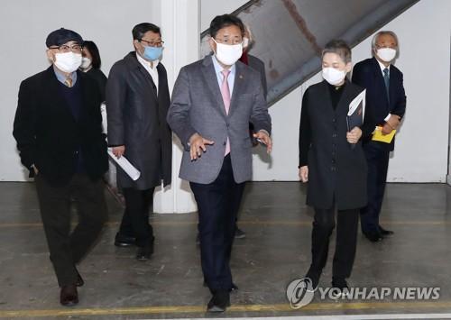 """박양우 장관 """"사립박물관·미술관 인건비 자부담분 경감""""(종합)"""