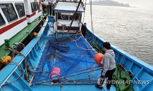 '바다의 황금' 실뱀장어 불법조업 기승…군산서 어선 45척 적발