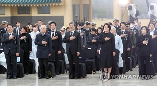 """""""그날처럼 대한민국 지키겠다""""…서해수호의 날 기념식(종합)"""
