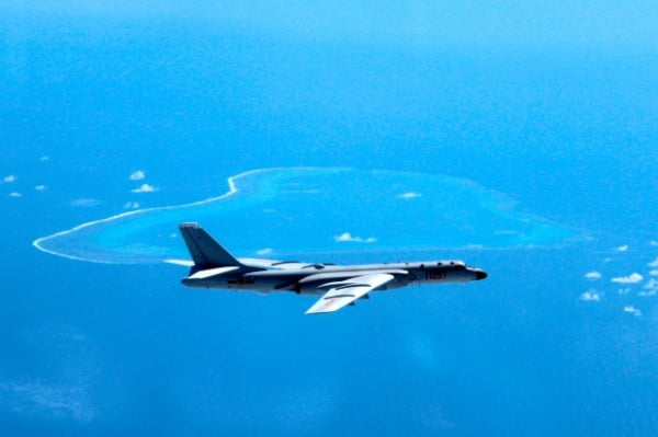 지난해 우리 영공을 침범한 중국 군용기 'H-6'. 사진=연합뉴스