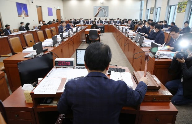 과학기술정보방송통신위원회 전체회의 모습.(사진=연합뉴스)