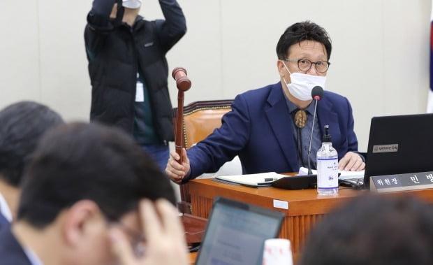더불어민주당 공천 심사에서 컷오프된 민병두 의원이 무소속 출마를 선언했다. /사진=연합뉴스