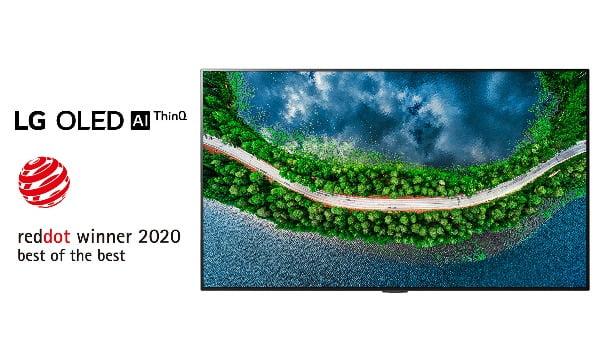 '갤러리 디자인'을 적용한 LG 올레드 TV가 세계적 권위의 '레드닷 디자인 어워드'에서 최고상을 수상했다/사진제공=LG전자