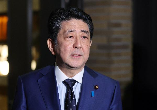 아베 신조 일본 총리. EPA