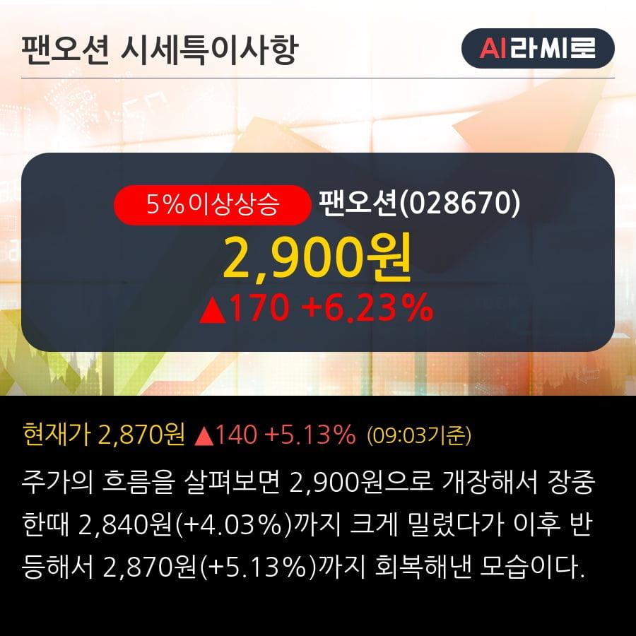 '팬오션' 5% 이상 상승, 1Q20 Preview - 과도한 주가 하락은 좋은 매수 기회 - KB증권, BUY(유지)